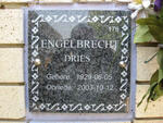 ENGELBRECHT Dries 1929-2003