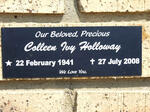 HOLLOWAY Colleen Ivy 1941-2008
