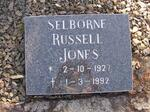 JONES Selborne Russell 1927-1992