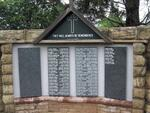 Free State, CLARENS, Methodist church, Memorial wall