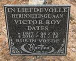 DATES Victor Roy 1957-2010