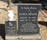 DEANE Nancy 1976-1991