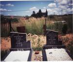 Gauteng, KRUGERSDORP district, Lanseria, Lindley 528 JQ, farm cemetery_1