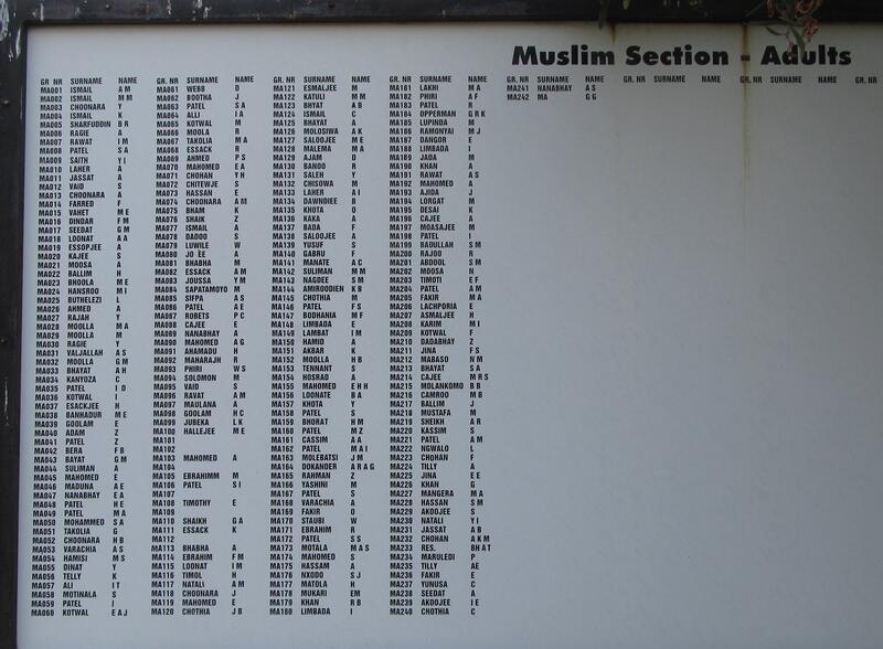 6. Notice Board Muslim section