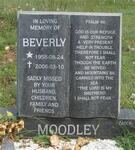 MOODLEY Beverly 1958-2006