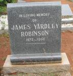 ROBINSON James Yardley 1872-1960
