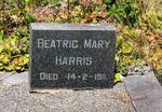 HARRIS Beatric Mary -1911