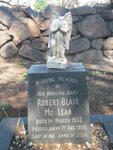 Mc LEAN Robert Blair 1955-1956