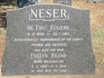 NESER Eric Eugene 1896-1967 & Evelyn Brand WATERMEYER 1898-1979