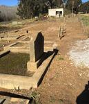 Western Cape, CALEDON district, Hartebeeste River 607_2, Teslaarsdal, farm cemetery