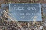 HEFER Elieze 1950-1958