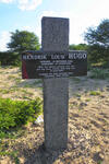 Botswana, GHANZI district, Trans Kalahari Highway A2, Roadside memorial