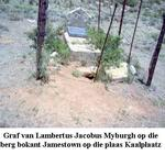 Eastern Cape, ALIWAL NORTH district, Jamestown, Plessies Kraal 189, Kaalplaas, single grave