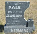 HERMANS Paul 1919-1974 :: HERMANS Johannes Niclaas 1951-2013