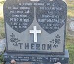 THERON Peter Alfred 1920-1977 & Mary Magdalene 1924-1994