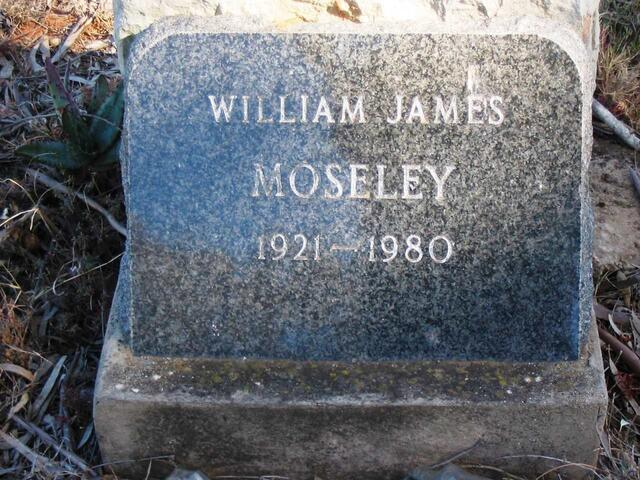 MOSELEY William James 1921-1980