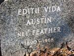 AUSTIN Edith Vida nee FEATHER 1890-1968