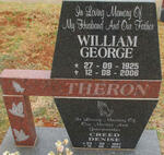 THERON William George 1925-2006 :& Denise CREED 1927-2013
