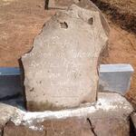 Mpumalanga, BALFOUR district, Modderbult 311, Gloy Family cemetery