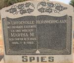SPIES Martha M. nee GRIFFIN 1939-1963