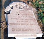 Kwazulu-Natal, ESTCOURT district, Rensburgspruit, farm cemetery