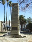 Eastern Cape, CRADOCK, War Memorial, Coloured Forces