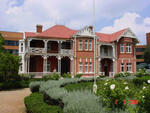 Gauteng, Johannesburg, PARKTOWN, Plaques at Tvl Scottish Museum